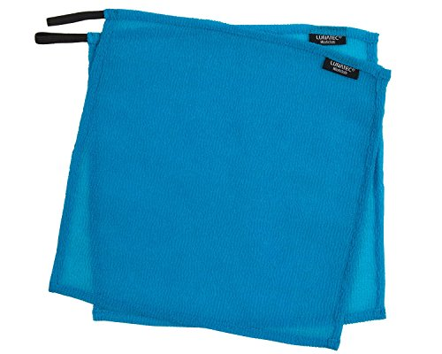 Lunatec Self-Cleaning Travel Washcloth. Odor-Free, Quick Drying &Light Exfoliation. Wash Cloth is Ideal for Camping, Backpacking, bathrooms, Gym, RVs and Boating. Compliments Any Travel Towel.
