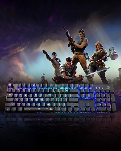 AUKEY KM-A1 (Fortnite) Double Shot ABS 104 Mechanical Keycap Set  $9.99 at Amazon