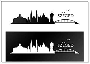 Szeged Skyline - Classic Fridge Magnet