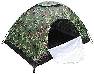 Kamouflage vattentät bärbar automatisk strandtält solskydd regntät vikbar utomhus camping vandring jakt skydd tält