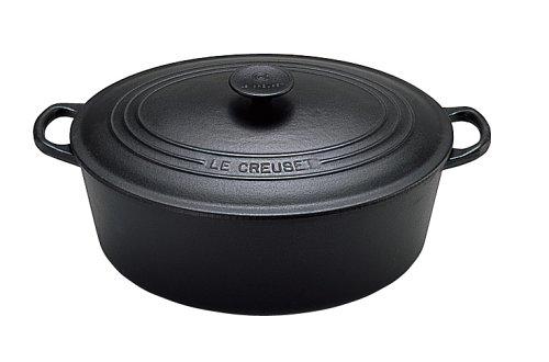Le Creuset 25002310000461 Bräter Tradition oval 31 cm schwarz