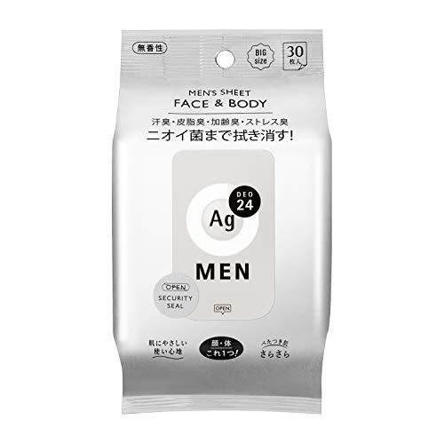 資生堂 エージーデオ24 メン メンズシート フェイス&ボディ ...