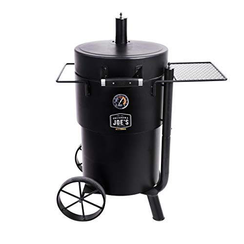 Char-Broil 19202089 Barrel Drum Smoker, Black