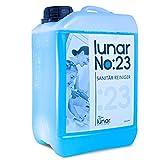 lunar. premium cleaning 3 Liter Sanitärreiniger Konzentrat Kanister Kraftvoller Profi Badreiniger Fliesenreiniger für