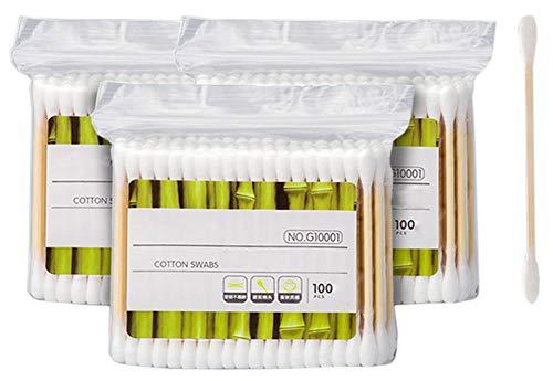 Cotons-tiges de sécurité 300 pièces Coton-tige à double pointe Bâtons de nettoyage polyvalents #23