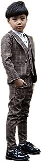 子供スーツ キッズ服 男の子衣装 ズボン、コート、ベスト 3色入荷 卒業式/入園式/発表会/七五三/フォーマル 100~160cm