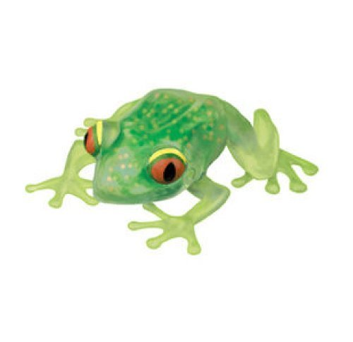 Squishy Stress Forest Frog (ea) - Giant 6' Animal Ooey Gooey Squeezable Toy (Colors Vary)