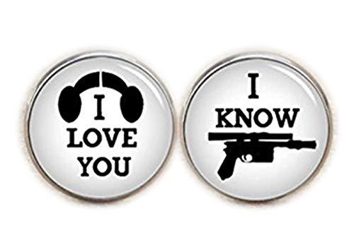 I Love You, I Know Boutons de manchette, I love you I Know, mariage, boutons de manchettes