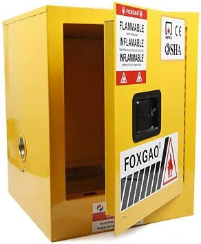 Houston Mall Safety Storage Cabinet Max 65% OFF 12 Yellow M Gallon