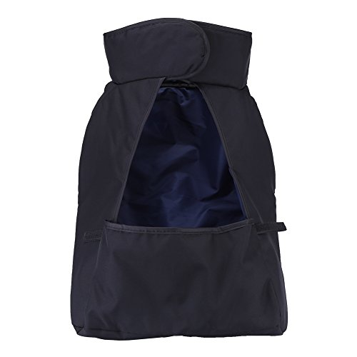 Saco de pie para cochecito de bebé, 3 colores, opcional, resistente al viento, para cochecito de bebé, con diámetro interior de 34 a 45 cm para cochecito de bebé (negro, azul)
