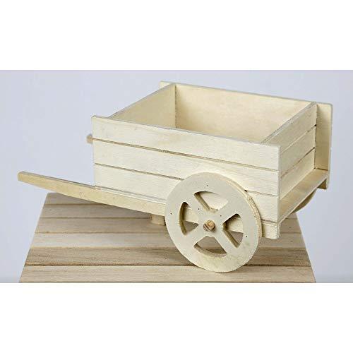 CARRETTO Porta piantine in legno Naturale allestimento Matrimonio