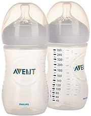 زجاجة الرضاعة الطبيعية من فيليبس افينت 260 مل X2 (131) SCF033/27