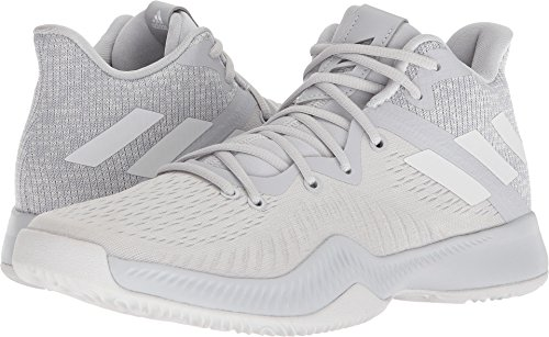 adidas New Men's Mad Bounce Basketball Shoe Grey/White 13