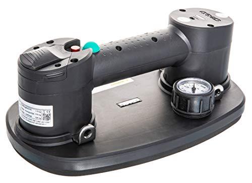 Nemo Grabo PLUS - Ventosa a batteria (sollevatore per piastrelle, sollevatore per vetro, aspiratore sottovuoto, aiuto per il trasporto di mobili, utensile per il trasporto, sollevamento)