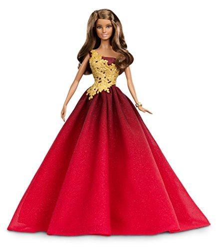 Barbie DRD25 - Bambola Barbie Magia delle Feste 2016 con Abito Rosso