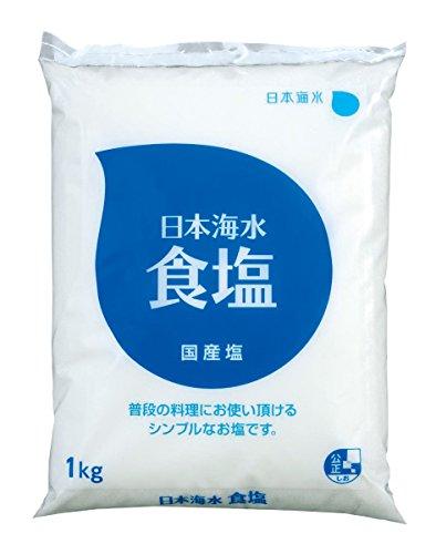 日本海水 日本海水食塩 1kg×4袋