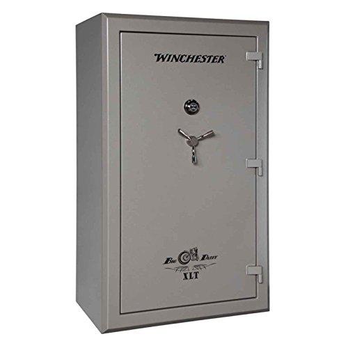 Winchester Safes BD72424710E Big Daddy XLT Gun Safe 72' H x 42' W x 27' D (Exterior) Electronic Lock Gunmetal Gray