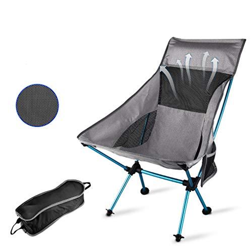 ZXCY Balancelle Chaise De Camping Pliable Léger Et Portable Slacker Seat pour La Pêche en Plein Air sur La Plage Voyager Randonnée avec Sac De Rangement