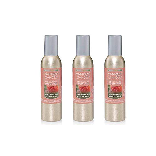 Yankee Candle Concentrated Room Spray 3-Pack (Sun-Drenched Apricot Rose)