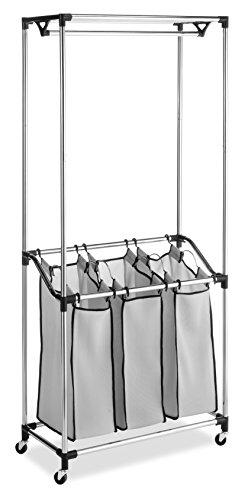 Whitmor Chrome Laundry Center