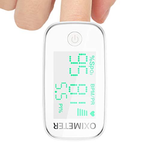 Pulsoximeter, Fingeroximeter Sauerstoffsättigung Messgerät Messen Pulsoxymeter für die Messung des Puls und der Oximeter am Finger