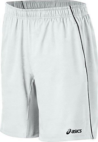 ASICS Herren 2-n-1 Tennis-Shorts, Herren, M110438-0001XL, Echtweiß, X-Large
