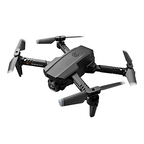 LS-XT6 Mini WiFi FPV with 4K HD Dual Camera Altitude Hold Mode Foldable RC Drone Quadcopter RTF - with Storage Bag 4K Dual Camera One Battery