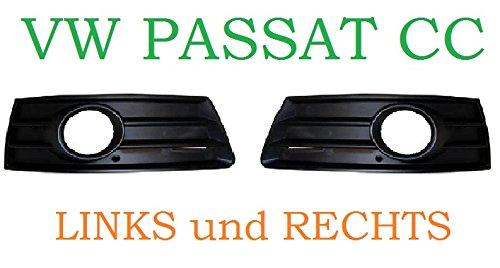 VW PASSAT CC 08-12 GITTER GRILL IN STOßSTANGE BLENDE LINKS und RECHTS NEU