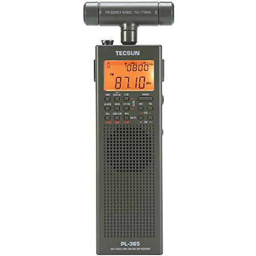 [EnergyPower] TECSUN PL-365 SSB・長波対応 デジタルDSPポケット短波ラジオ 超小型 長・中波用外付アンテ...