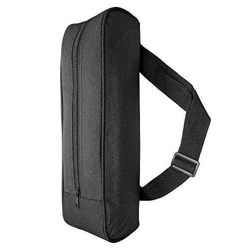 Hensych Material de nailon negro resistente al agua trípode bolsa de almacenamiento portátil bolso bolso para trípode monopié equipo fotográfico, etc.