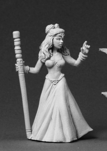 RPR03563 Tinley the Female Wizard by Reaper Miniature