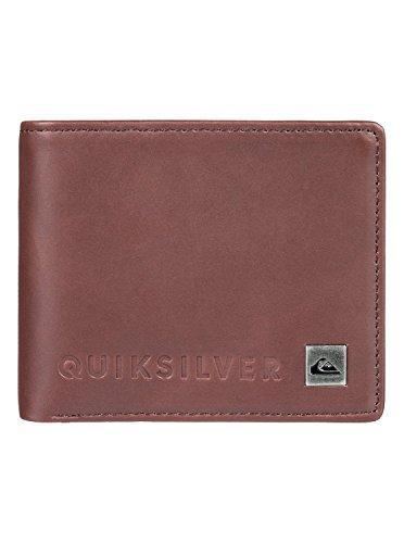 Quiksilver MACKVI M WLLT CSD0 portemonnee voor heren, chocoladebruin, L