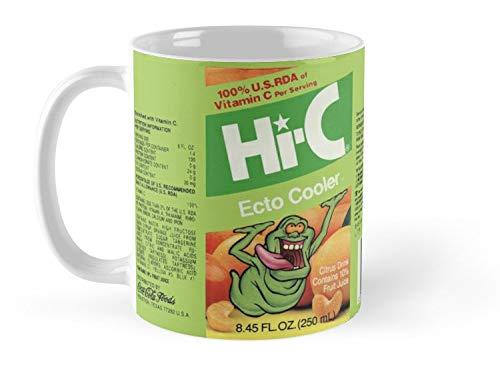 Blade South Mug Ghostbusters Hi-C Ecto Cooler Mug - 11oz Mug - Features wraparound prints - Made from Ceramic - Best gift for family friends