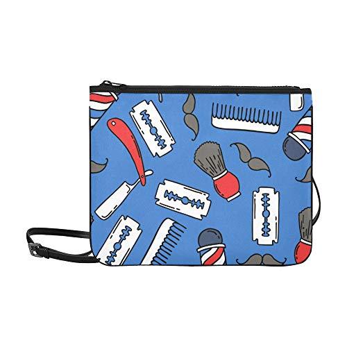 Generies Umhängetasche Schöne Mode Rasiermesser Friseur Verstellbarer Schultergurt Umhängetaschen Kinder Für Frauen Mädchen Damen Reisetaschen Umhängetasche Umhängetasche Umhängetasche