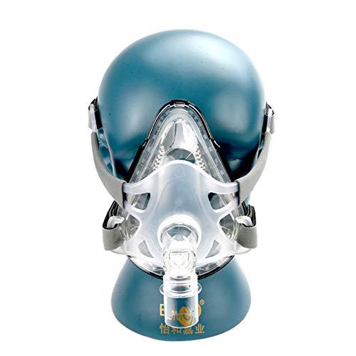 Excellent Nasenkissen CPAP-Maske Schlafmaske Geeignet für Schlaf-Schnarch-Apnoe-Geräte Hydrogel-Material Weich Und Bequem,L