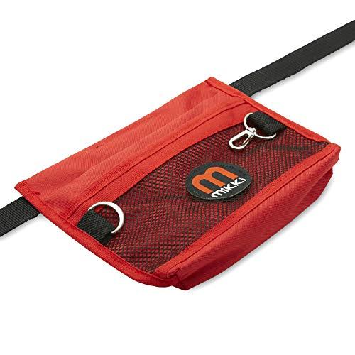 Interpet Bolsa Deluxe de Mikki para Guardar premios para Perros y Cachorros Que están Siendo adiestrados. Ajustable a la Cintura y con Cinta para Colgar del Hombro.