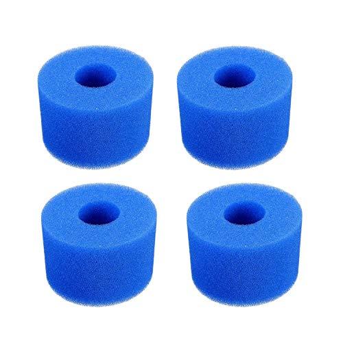Huante Schaumstofffilter für S1, wiederverwendbar, waschbar, 4 Stück