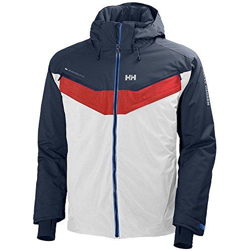 Helly Hansen Blazing Jacket–Giacca per Uomo, Uomo, Bianco (Bianco 001), M
