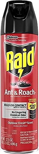 Raid Ant & Roach Killer Defense System, Outdoor...