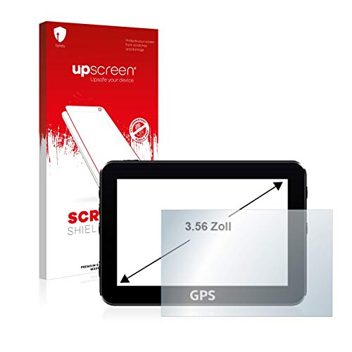 upscreen Schutzfolie für 3.6 Zoll Camcorder (54.3 x 72 mm, 4:3) – Kristallklar, Kratzschutz, Anti-Fingerprint