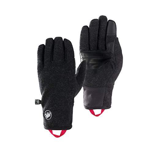 Mammut Passion Handschuhe, Black mélange, 7