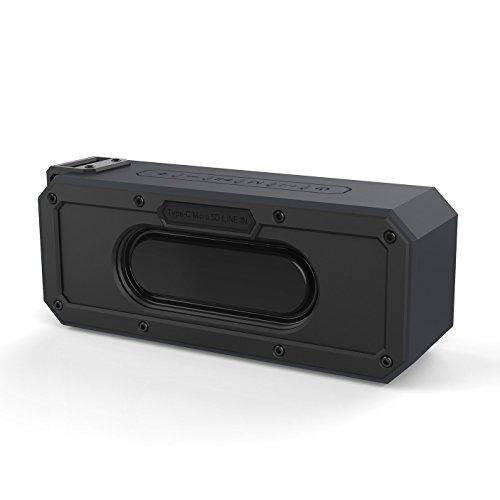 XDOBO Altavoz Bluetooth 60 Vatios Sonido Estéreo Intenso TWS Impremeable 8h de Reproducción Soporte Tarjeta TF/AUX Altavoces Inalámbricos Portátiles para al Aire Libre, Bar, Fiesta, Cine en Casa