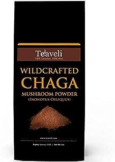 Premium Chaga Mushroom Powder- Powerful Support for Healthy Immune System- Ethically Wildcrafted- Chaga Powder for Chaga T...