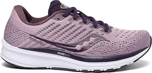 Saucony Damen Ride 13 Traillaufschuh, Blush/Dusk, 40 EU