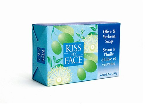 Fresno Mall Max 44% OFF Kiss My Face Olive Verbena Bar 8-Ounce pack Soap of 8 Bars