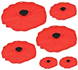Charles Viancin Poppy Silicone Lid-Set of...