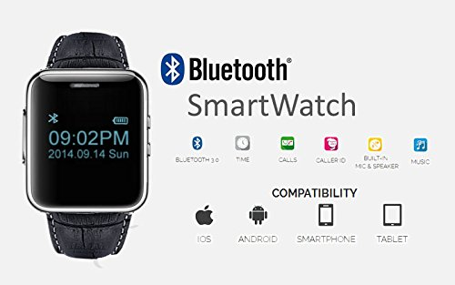 Smart Watch Built in Camera & MP3 Player + Pedometer - Great Gift Idea 5