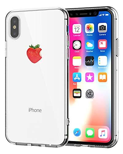 Caler Cover Compatibile per iPhone SE 2020, Compatibile con iPhone 8/iPhone 7 Custodia Trasparente con Disegni TPU Morbida Bumper Case con Motivo Carino in TPU Silicone Antiurto 3D Vogue Ultra Chic