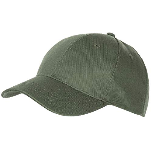 MFH US Army Baseball Cap Mütze Baseballmütze Baseballcap Tarnmuster Schirmmütze (Oliv)