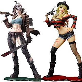 Lemongrass. 23Cm Y Dy Vs Jason Female Version Horror Bishoujo PVC Action Figure Toys Teen Must Haves Friendship Gifts Favourite Movie Superhero Stickers UNbox Toys